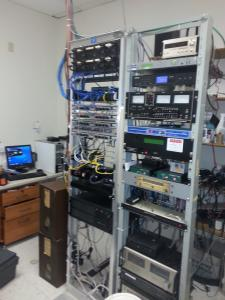 Radio Coop Engineering room